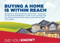Low Down payment Option For Buying A Homes