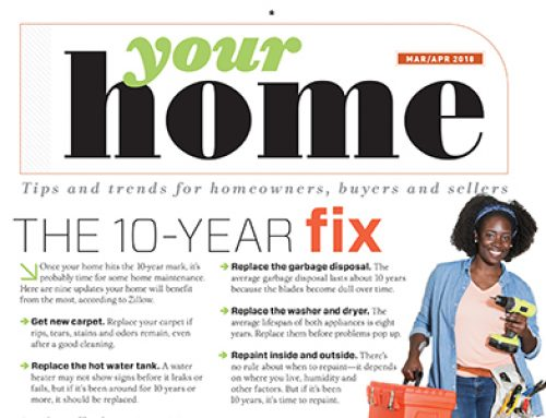 Your Home: Tips and Trends for Homeowners, Buyers and Sellers